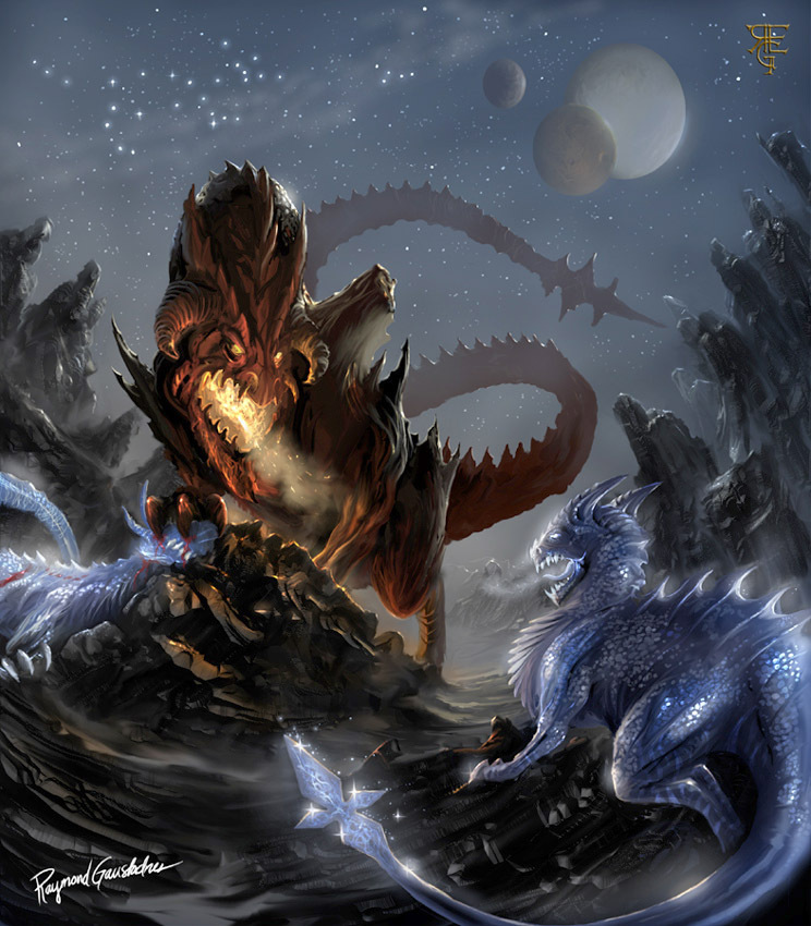 Mythological Dragons: LorenAshleigh